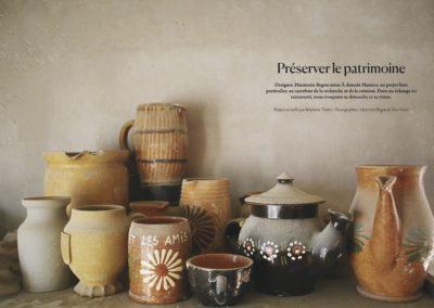Préserver le patrimoine, magazine HOME